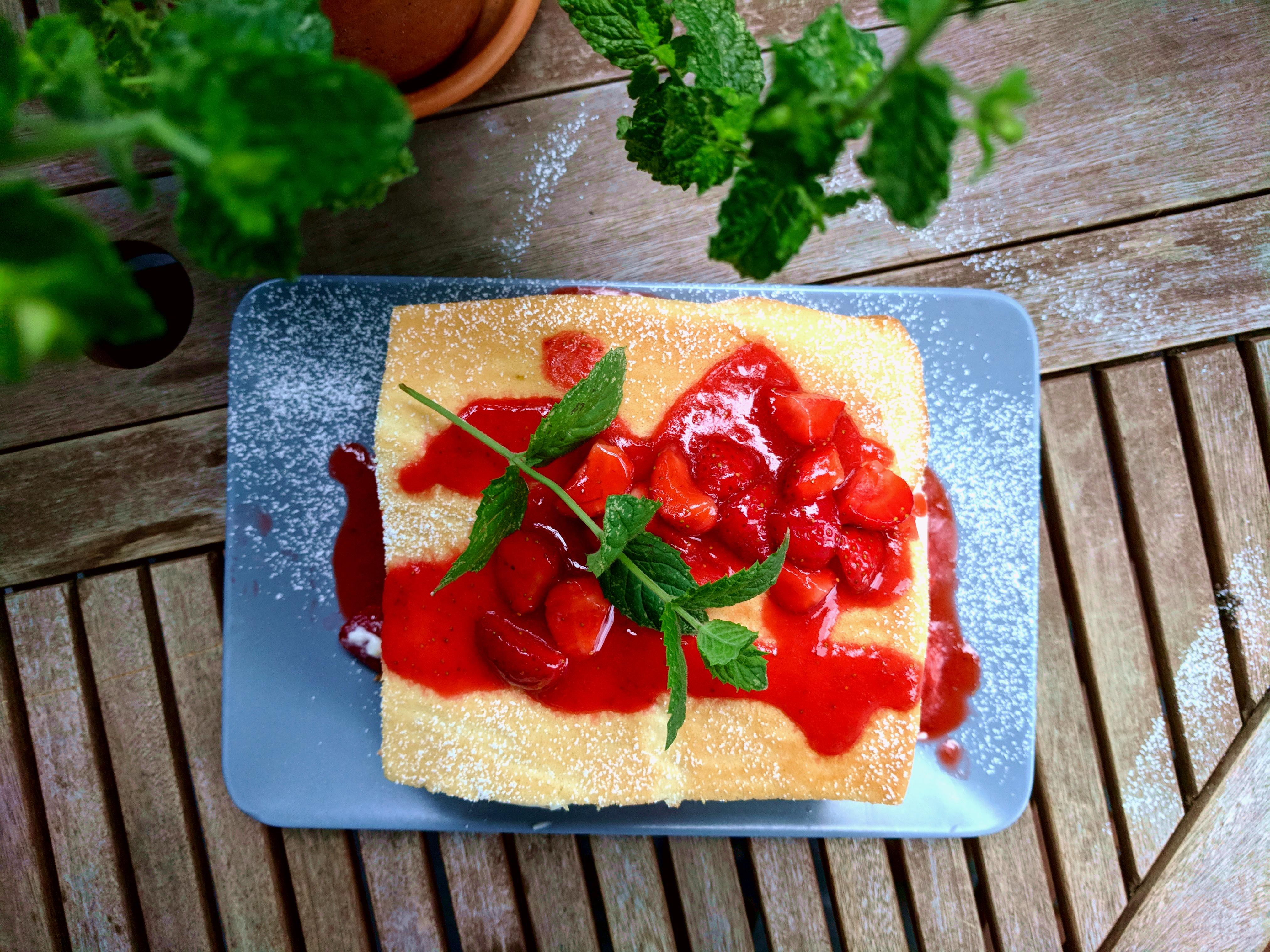 Erdbeerlasagne