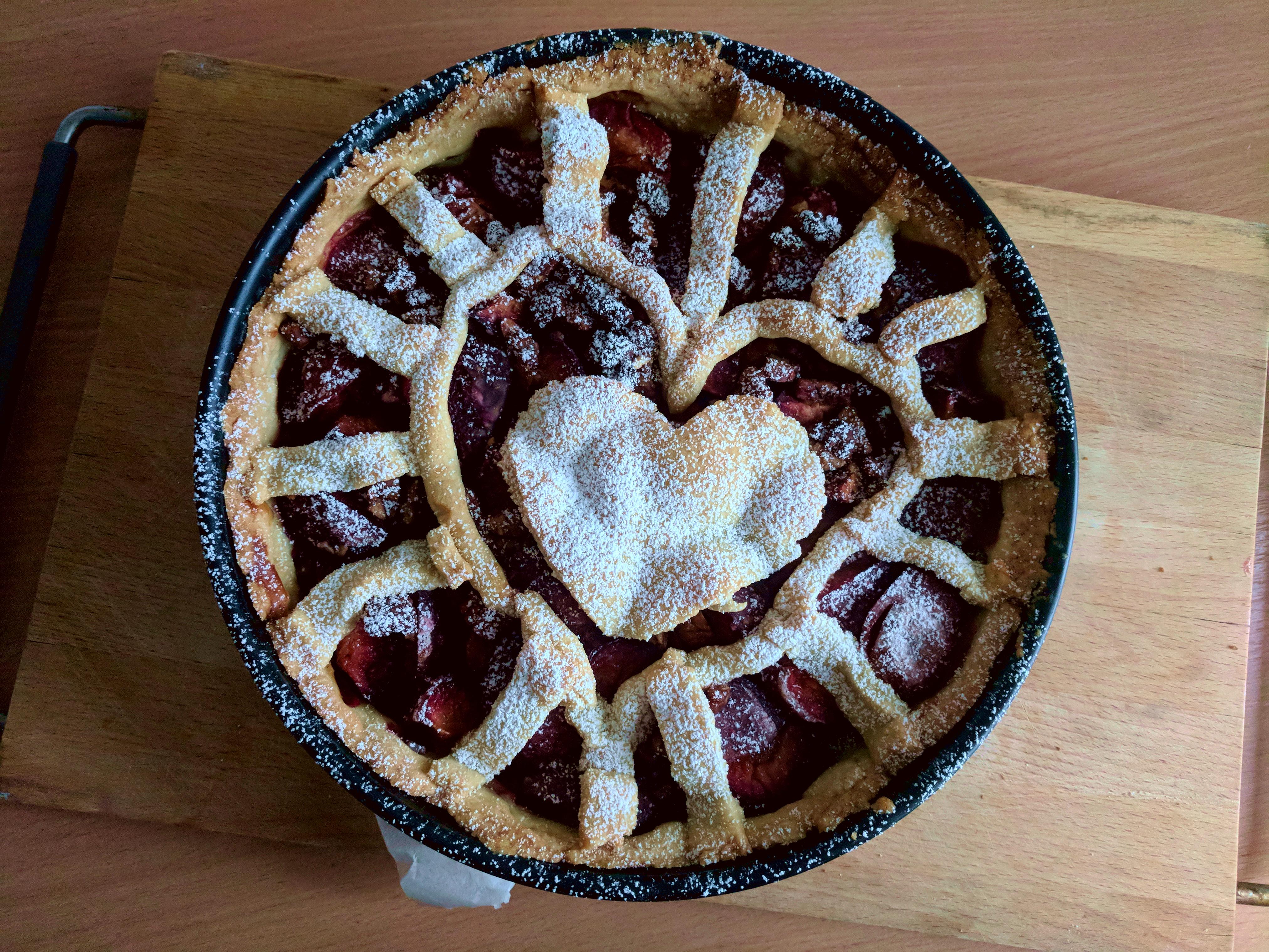 Pflaumen Pie