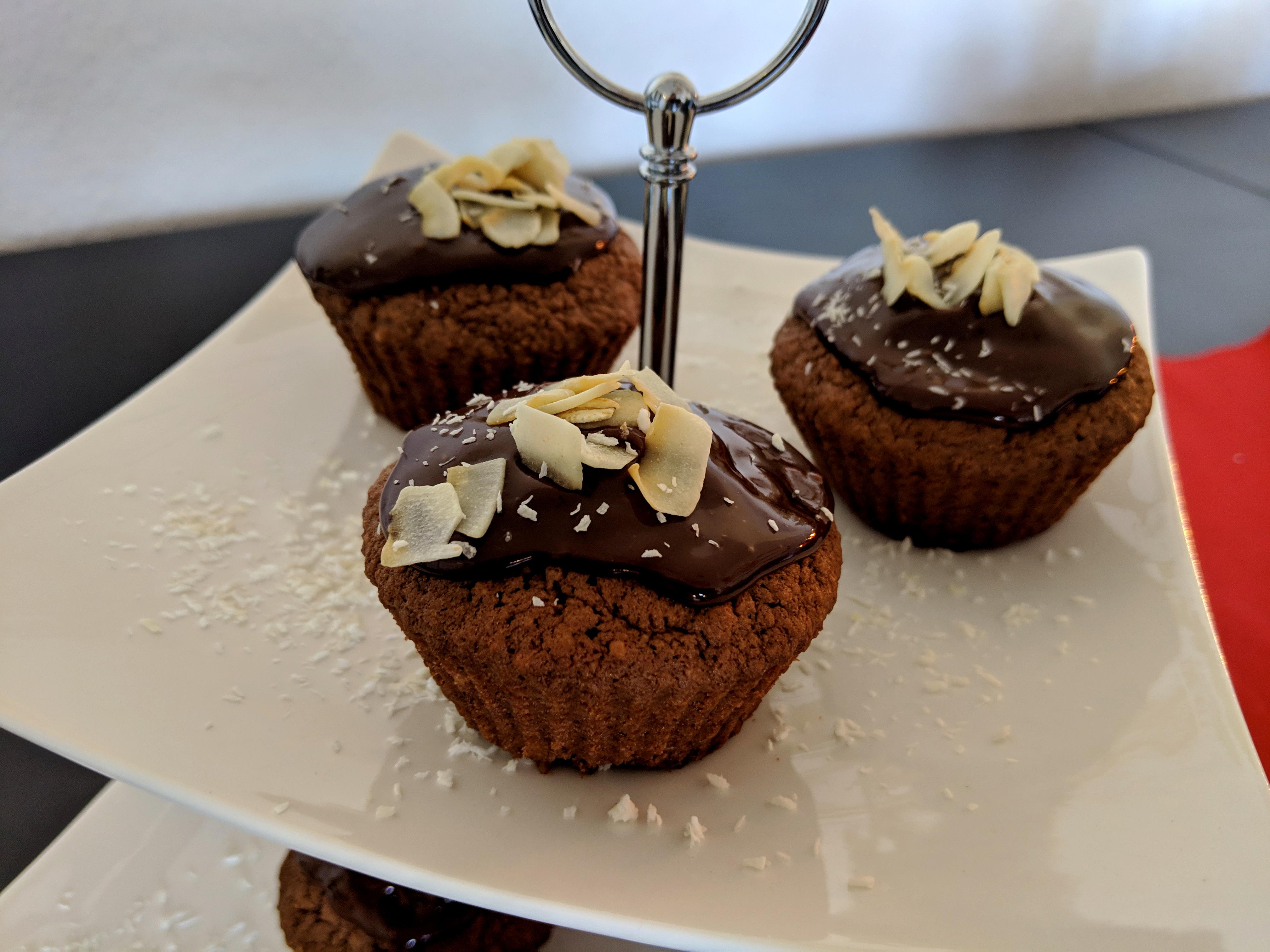 Schoko-Kokos Muffins