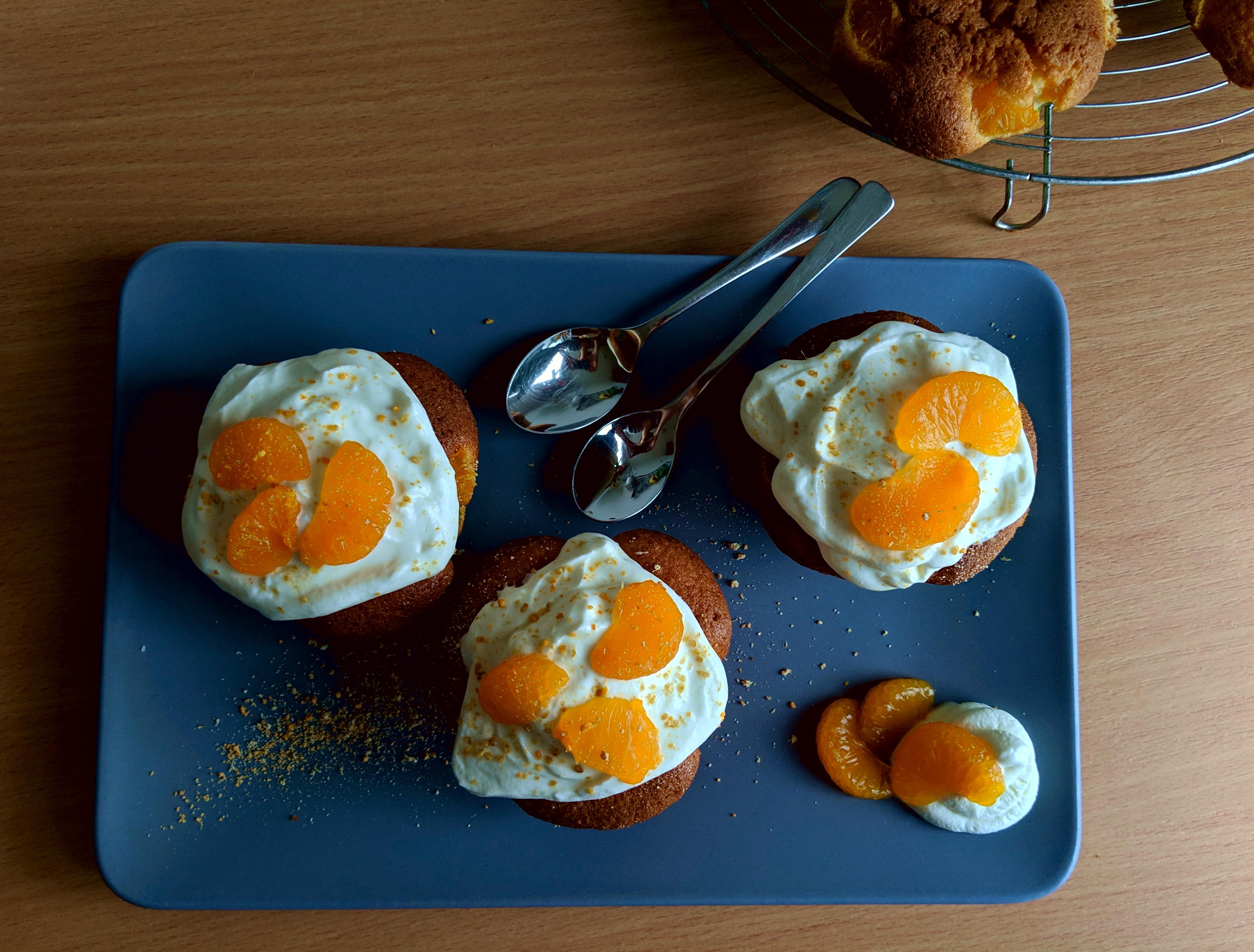Mandarinen Cupcakes
