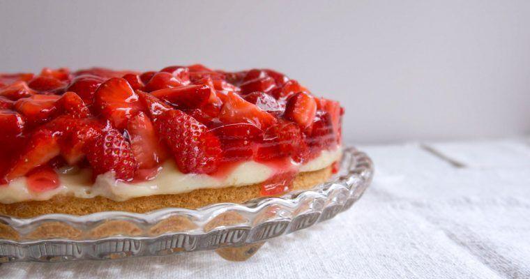 Erdbeer Marmor Kuchen