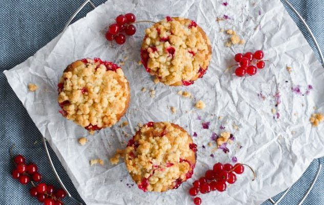 Johannisbeer Streusel Muffins