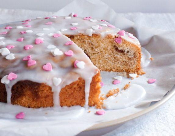 Marmor Kirsch Kuchen