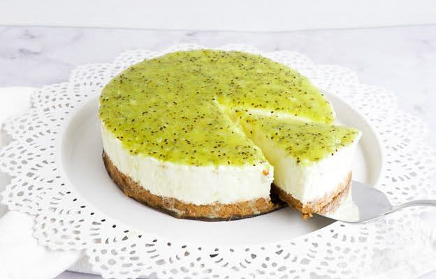 Kiwi Frischkäse Torte