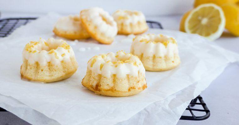 Zitronen Mini Gugelhupfe