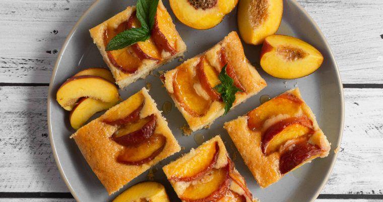 Pfirsich Rührkuchen
