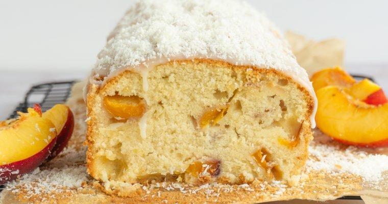 Pfirsich Kokos Kuchen